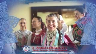 MISS FOLKLÓR 2017 | finalistka č. 3 | Andrea Lačoková
