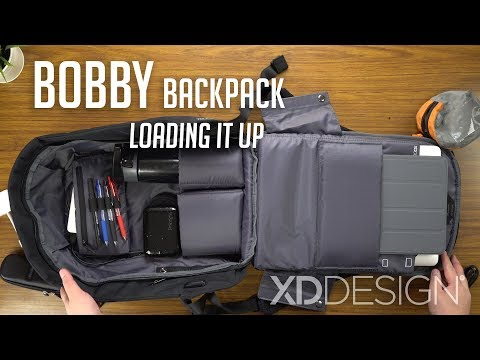 Bobby Anti-theft Backpack - Loading It Up / XD Design | In-depth Look