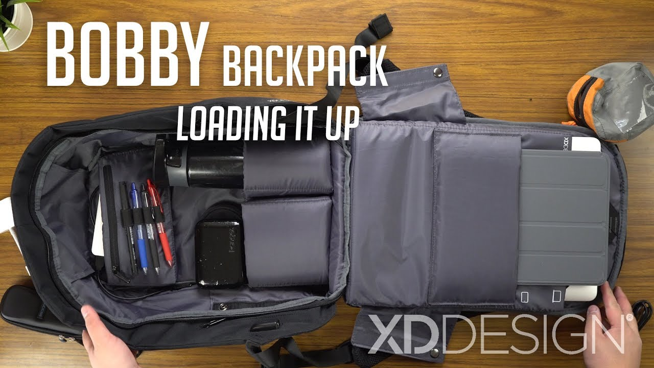 60ce70517c3 Bobby Anti-theft Backpack - Loading It Up / XD Design | In-depth Look