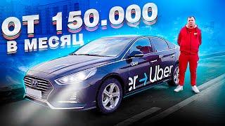 Из БОМЖа в директора парка 150 000 рублей в месяц Яндекс такси на Хендай Соната комфорт и эконом