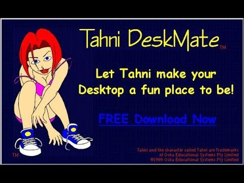 Tahni Deskmate (Windows 95) - YouTube