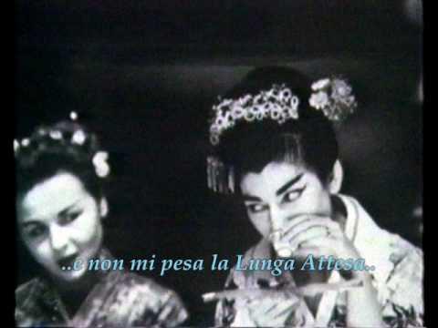 Puccini - Madama Butterfly: Un bel dì vedremo - Maria Callas 1954