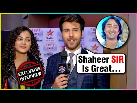 Ritvik Arora PRAISES Co-Star Shaheer Sheikh | Yeh Rishtey Hain Pyaar Ke Show Launch