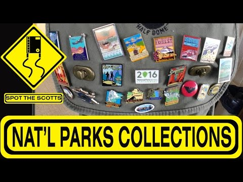 NATIONAL PARKS Collections: Passport Book, Binder, Stamps & Pins! ~ RV Life {#266}