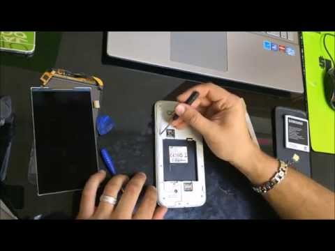 Samsung Galaxy Mega 5 8 - How to Take Apart and Replace LCD Glass Screen