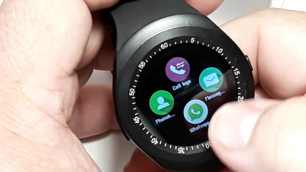 Y1 Bluetooth Smartwatch Smart Watch Samsung Gear 2