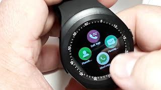обзор Smart Watch Y1