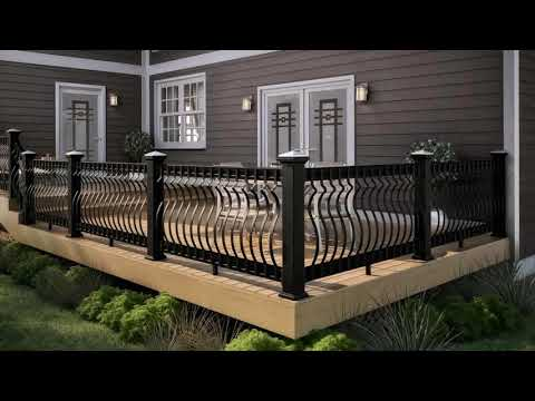 Deck Railing Ideas Metal