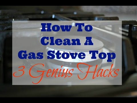 How To Clean A Gas Stove Top - 3 Genius Hacks!