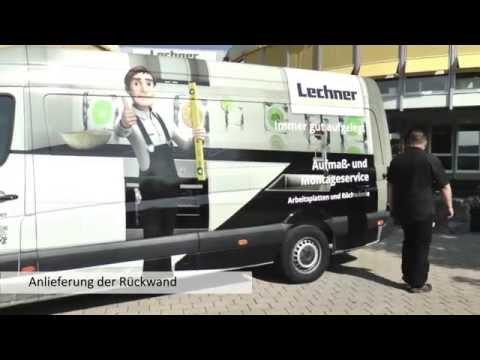 Lechner, Design- Küchenrückwände. Die Brilliant Line zum Nacharbeiten vor Ort.