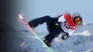 Snowboarder Lands Amazing Backside Quadruple Cork Move