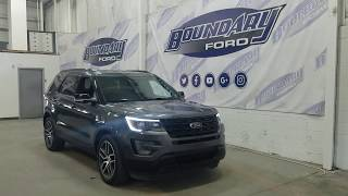 Pre-owned 2016 Ford Explorer Sport 400A W/ 3.5L EcoBoost Overview | Boundary Ford