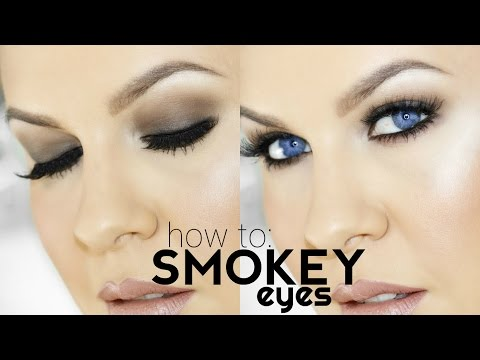 HOW TO SMOKEY EYES FOR BEGINNERS!! EASY STEP BY STEP