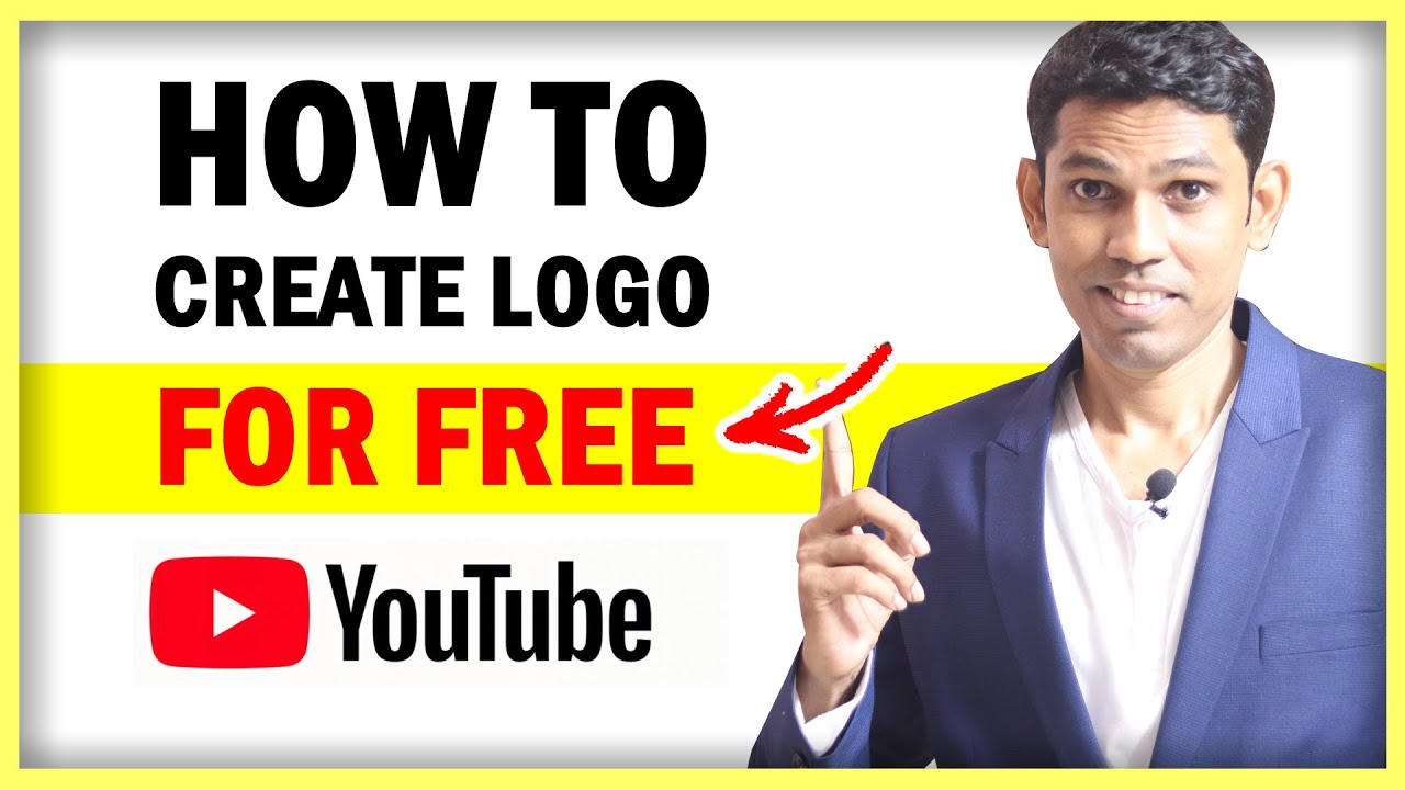 How to Create Free Logo for YouTube Channel withing 2 Minutes