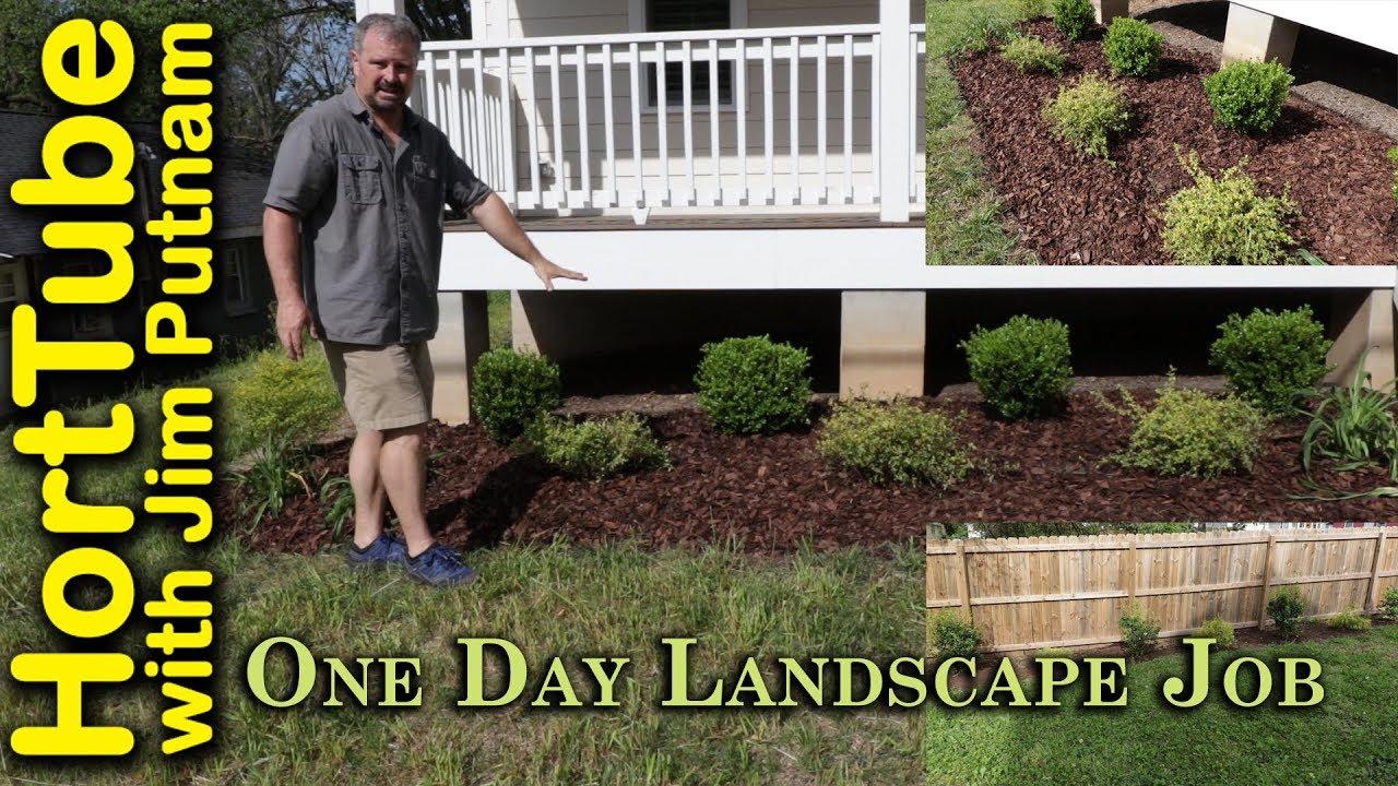 day landscape job - e2 simple