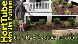 Gambar cover One Day Landscape Job - E2 - Simple Low Maintenance Design