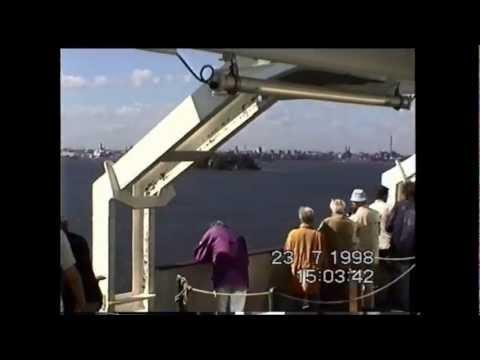 Die Finnjet auf der Fahrt von Travemünde nach Helsinki