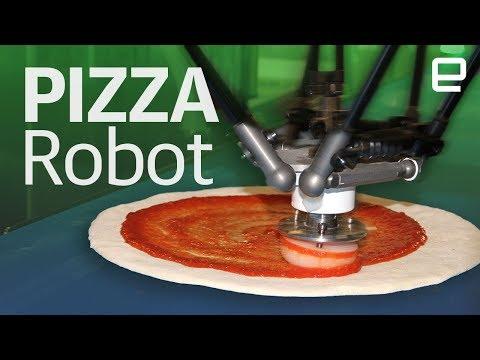 Zume's robotic pizza