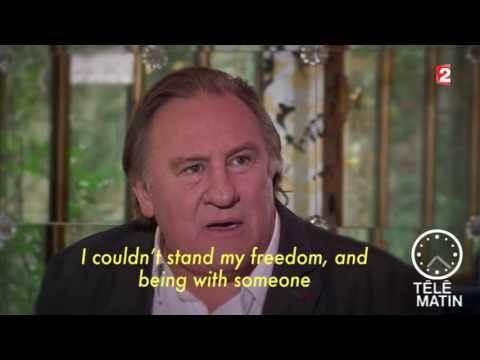 Gerard Depardieu Interview