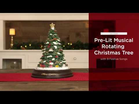 Pre Lit Rotating Christmas Tree.Sky5189 Best Choice Products Pre Lit Tabletop Rotating Musical Christmas Tree