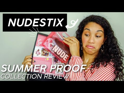 NUDESTIX SUMMER PROOF COLLECTION REVIEW + EVERYDAY MAKEUP ROUTINE thumbnail