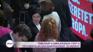 Több MSZP-s arra kíváncsi, fizet-e Tóth Bertalan szolidaritási pénzt, és mennyit