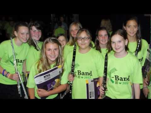 Middle School Band, Orchestra and Choral Camp 2012