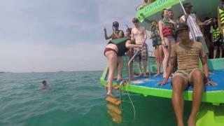 Boat tour around Koh Phi Phi, Thailand