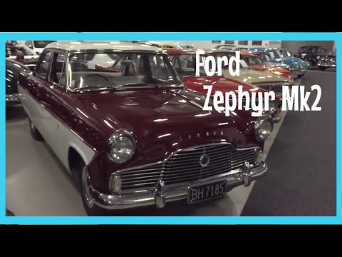 Ford Zephyr MK2. 1962. 2.5L. In Mint Condition.
