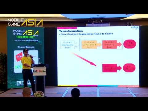DeNA: Leveraging Vietnam for a Global Gaming Business - Mobile Game Asia 2015 Ho Chi Minh City