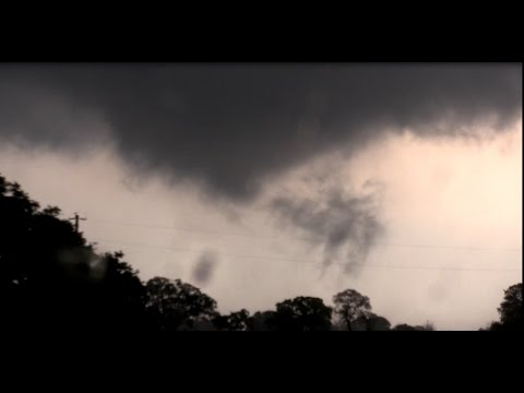 Multiple tornadoes near Abilene, Texas: March 28, 2017