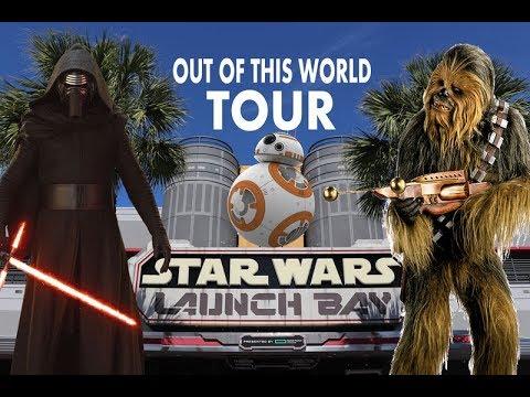 Star Wars Launch Bay at Disney's Hollywood Studios Full Tour
