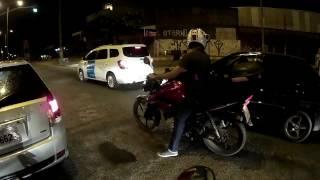policial mandou eu toma no c pq nao sai da frente alex motovlog