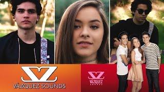 Vázquez Sounds & Lucah - Te Encontré (Karaoke Instrumental/Letra)
