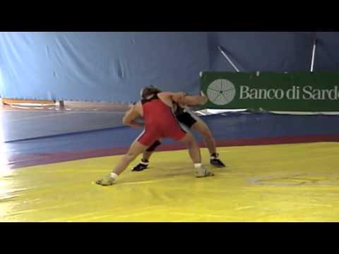2008 Sassari International: 60 kg Michele Rauhut (GER) vs. Saeed Azarbayjani (CAN)