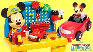Disney Jr. MICKEY MOUSE & The Roadster Racers 22pcs Custom Car Kit