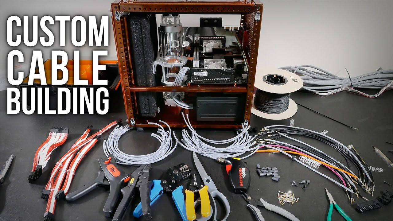 Custom Cable Building - YouTube