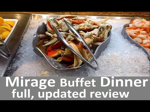 Mirage Buffet dinner Video (no shaking). All you need is here, do you agree?... from top-buffet.com