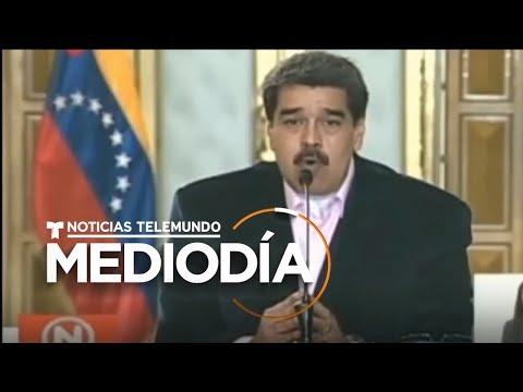 Nicolás Maduro Responde Con Ira A Las Acusaciones De Narcoterrorismo De EE.UU.   Noticias Telemundo