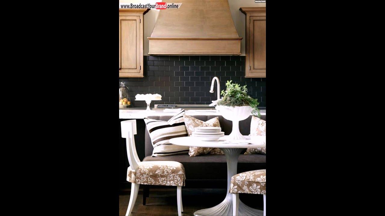 Küchenrückwand Ideen Fliesenspiegel Schwarz   YouTube