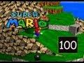 Super Mario 64 - Tiny Huge Island - Five Itty Bity Secrets - 100/120
