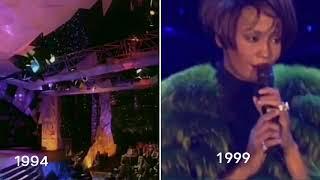 Whitney Houston - I Will Always Love You (WMA '94 & Mannheim '99)