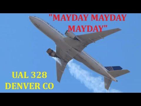 'MAYDAY, MAYDAY, MAYDAY' UAL 328 B-777 200 20FEB 2021