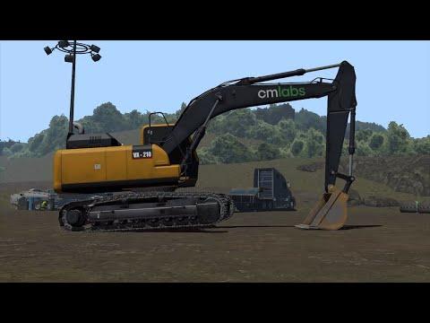 Excavator Simulator Training Pack | Construction Simulator  - CM Labs