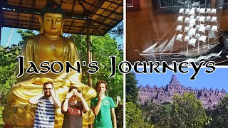 Jason's Journeys | Borobudur & Silversmithing