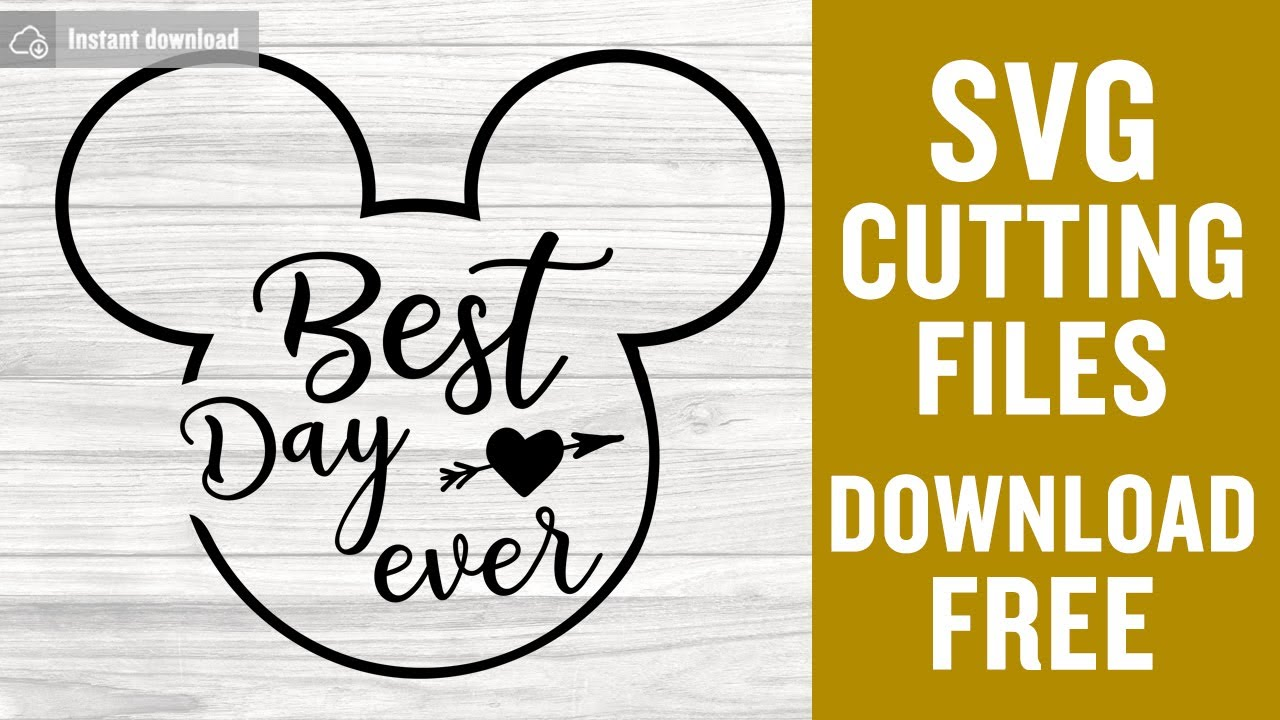 Download Disney SVG Free Cutting Files for Cricut Vector Free ...
