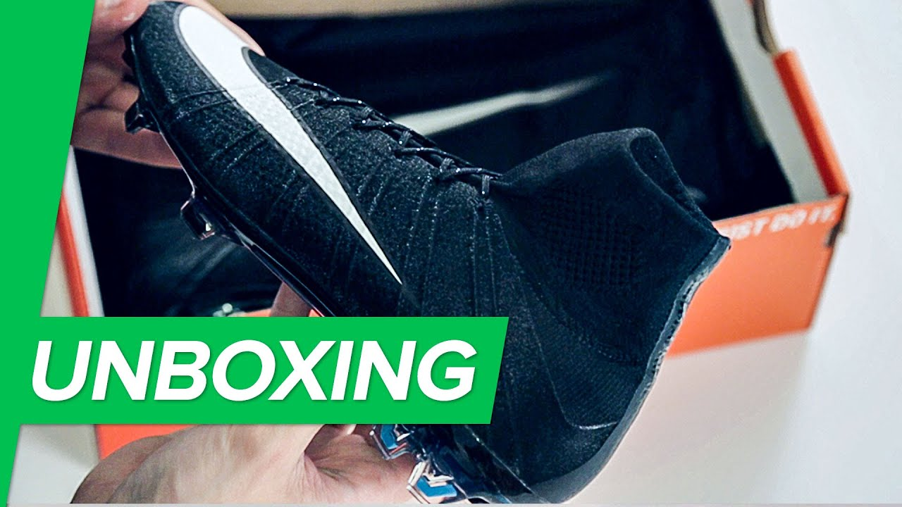 Emborracharse Respecto a playa  Unboxing: Nike Mercurial Superfly IV CR7 2014 by Unisport - YouTube