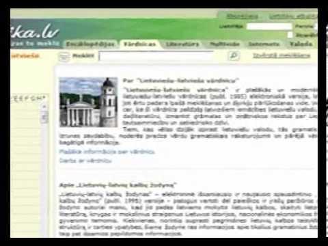 Elektroniniai žodynai ir vertyklės