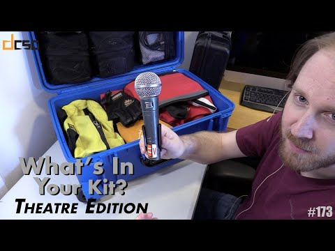 What's In Your Kit? Theatre Pro Audio Edition with Nicholas Von Hagel