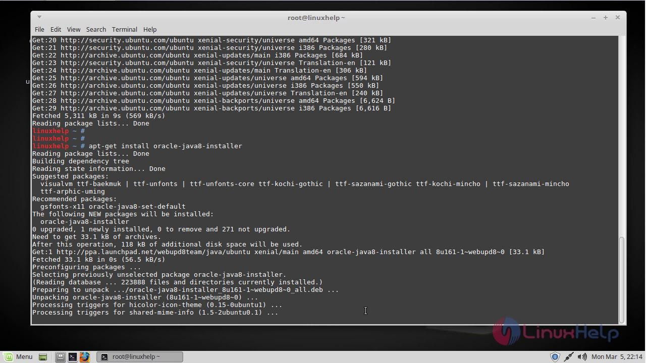 install jdk netbeans linux mint